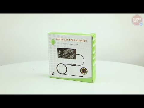 Автомобильный USB эндоскоп с камерой для смартфона. Гибкий эндоскоп для андроид