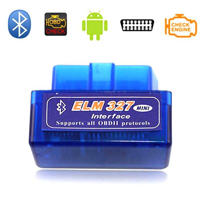 Диагностический адаптер для автомобиля ELM327 Bluetooth Mini OBD2 v 1.5