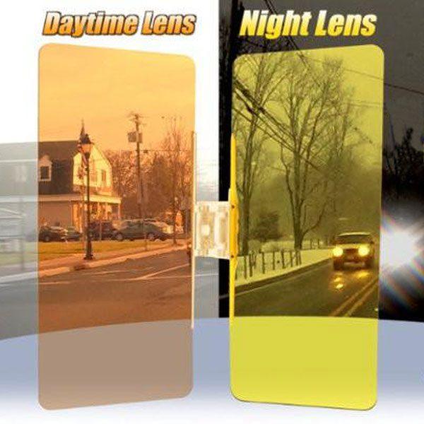 Антибликовый солнцезащитный козырек в автомобиль HD-Visor (Clear View)