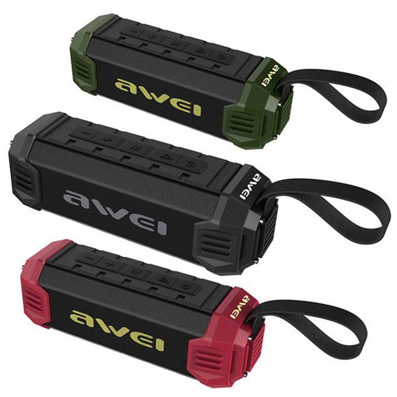Фото Awei Y280 Портативная экстремальная Bluetooth колонка (три цвета)