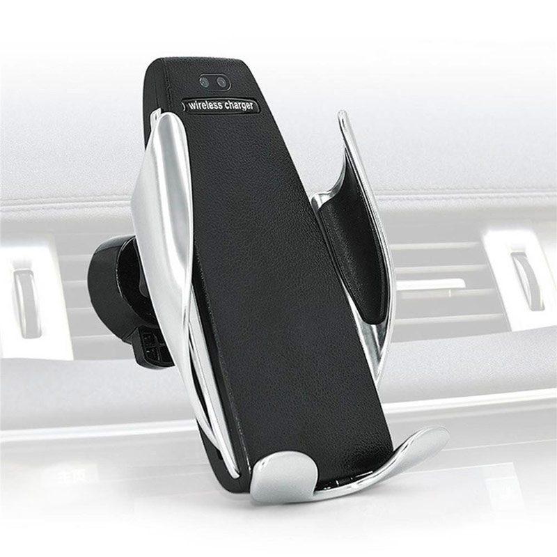 Фото держателя для смартфона Cosmo Plus с беспроводной зарядкой
