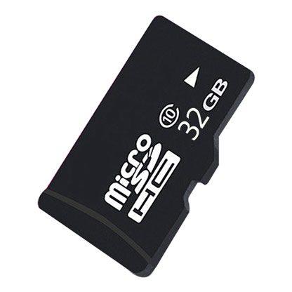 Картинка SD карты памяти на 32 гб с 10-м классом скорости записи