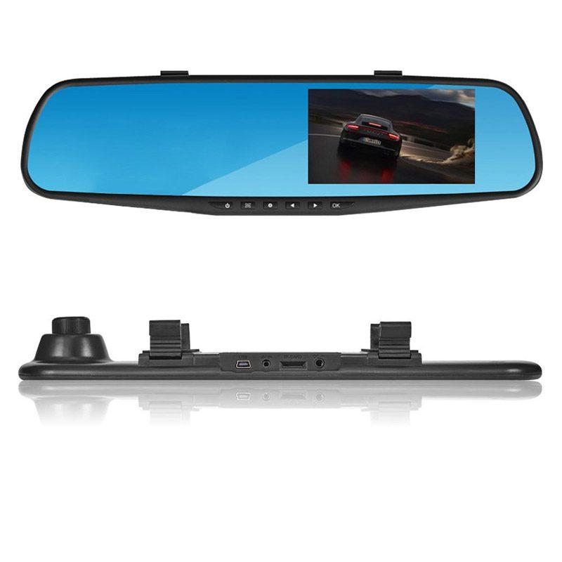 Изображение разъёмов Видеорегистратора-зеркала Vehicle Blackbox DVR Full HD
