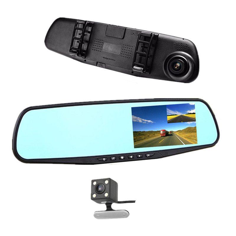 Фото Зеркало Видеорегистратор Vehicle Blackbox DVR 1080p с камерой заднего вида