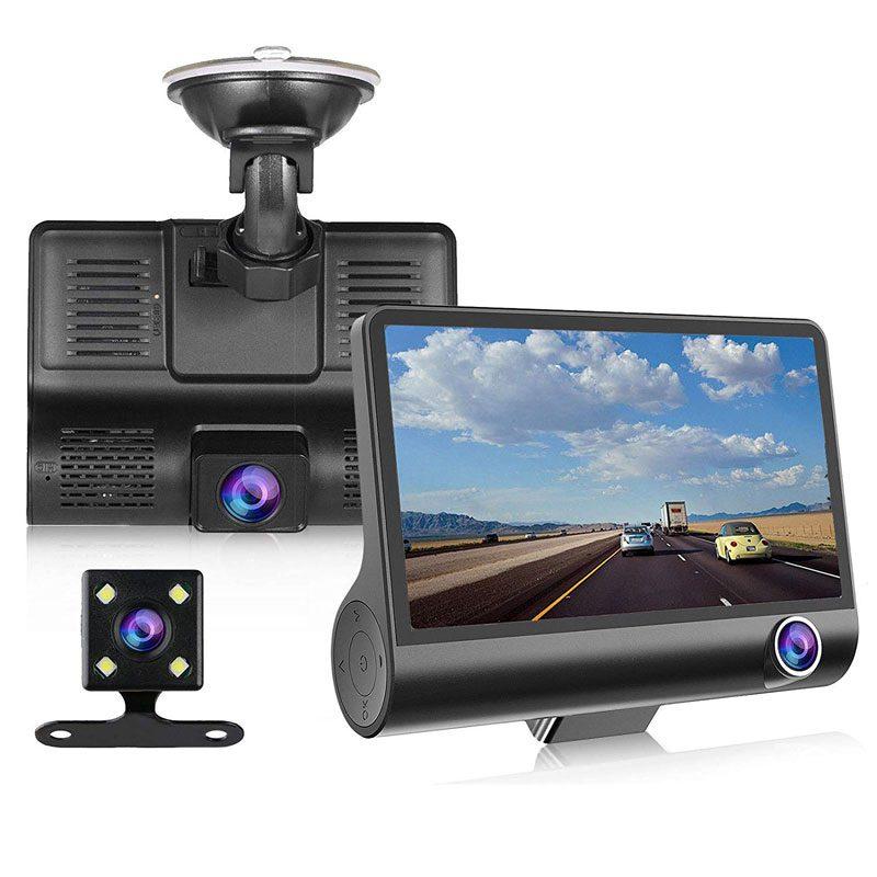 Фото Автомобильный Видеорегистратор XPX P9 3 камеры в комплекте