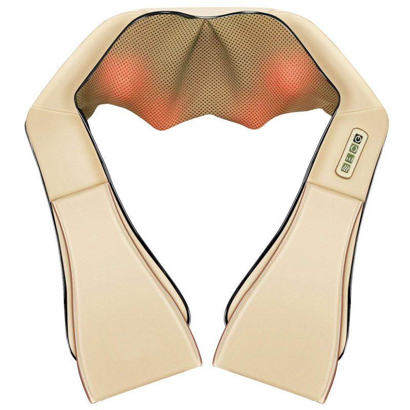 Фото Массажная подушка для шеи спины и плеч с подогревом